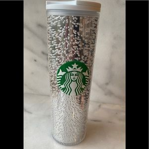 Starbucks 2020 Silver Bubbles Tumbler Cup